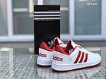 Мужские кроссовки Adidas La marque (бело-красные), фото 6