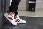 Мужские кроссовки Adidas La marque (бело-красные), фото 7