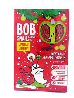 Конфета-Пастила Яблоко-Корица Bob Snail 60 г