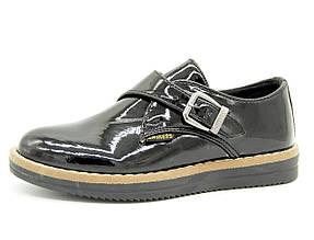 Туфли для девочки Турция Черные  Размеры: 30, 34, 35