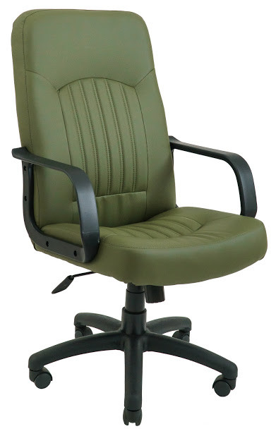 Кресло Фиджи пластик 1 кат темно-зеленое