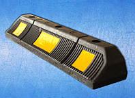 Колесоотбойник резиновый 590х120х90мм, парковочный (универсальный)