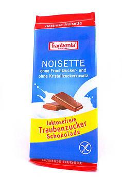 Шоколад с кусочками орехов без лактозы с декстрозой Frankonia 80 г