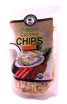 Кокосовые чипсы Жаренные органические Sun Rich Paradise 200 г
