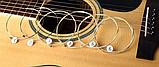 Струны для  гитары гитарные струны 6 шт металлические, фото 2