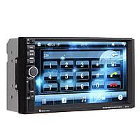 Автомагнитола 7018 сенсорный экран + gps 2Din