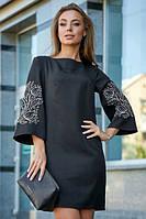 Классическое вечернее платье с вышивкой ( р. M, L, XL, XXL )