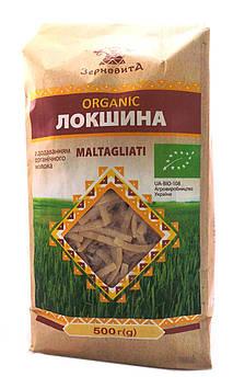 Лапша Maltagliati из твердых сортов пшеницы органическая Зерновита