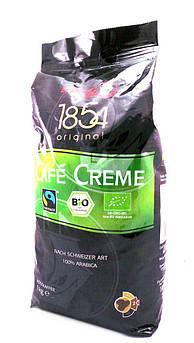 Кофе зерновой органический Cafe Creme Fairtrade Schirmer Kaffee 1 кг