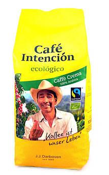 Кофе зерновой органический Intencion Ecologico Crema J.J. Darboven 1 кг