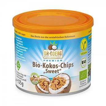 Кокосовые чипсы сладкие органические Dr. Goerg 125 г
