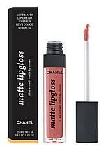 Жидкая матовая помада Chanel Matte Lipgloss