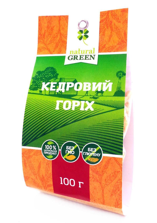 Кедровый орех NATURAL GREEN 100 г