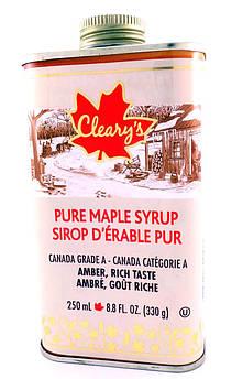 Кленовый Сироп, Жестяная Фляга, Canada №1 Medium Cleary's 250 мл