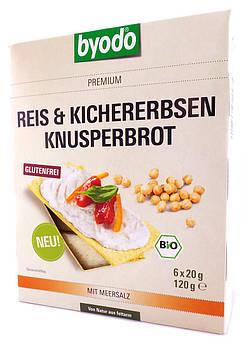 Рисовые хлебцы с нутом Reis und Kichererbsen Byodo 120 г