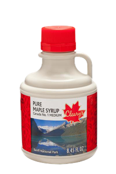 Кленовый Сироп Сувенирный Кувшин Banff & Calgary №1 MEDIUM Cleary's 250 мл