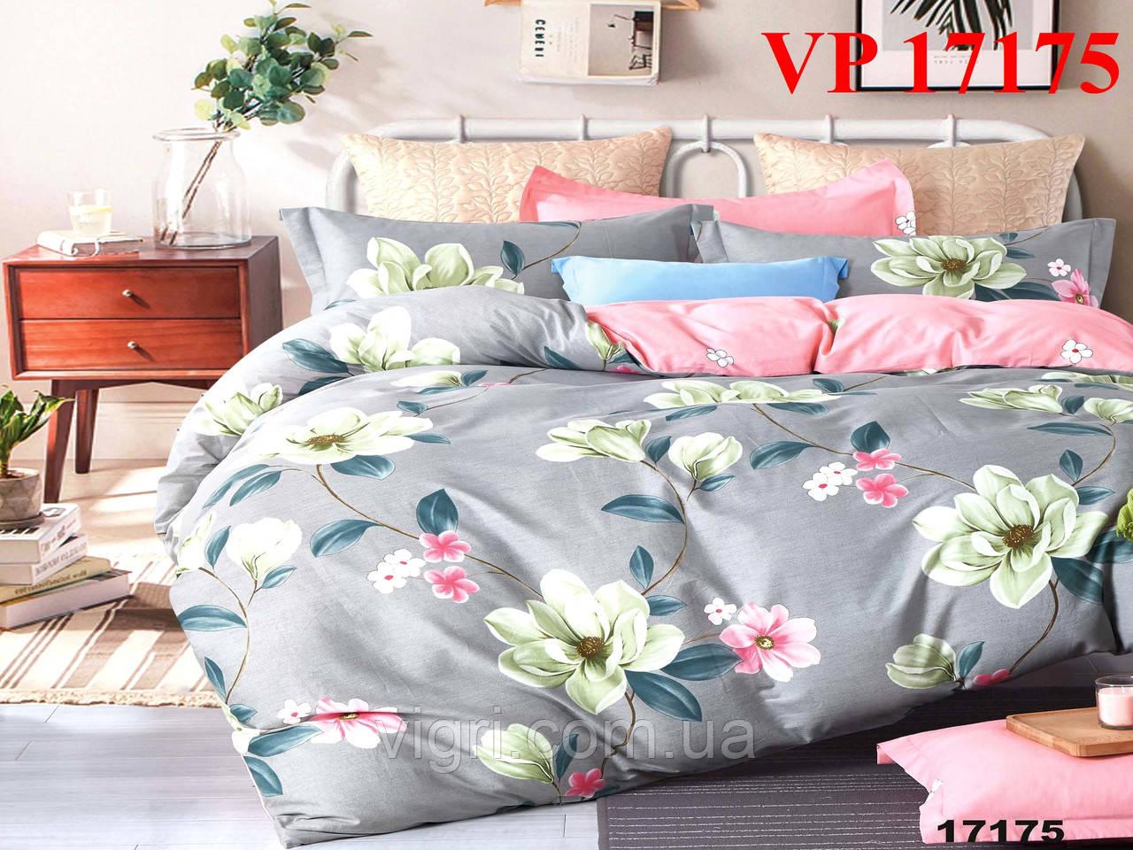 Постельное белье, двухспальное, ранфорс Вилюта «VILUTA» VР 17175