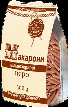 Макарони Цільнозернові Перо Козуб 500 г
