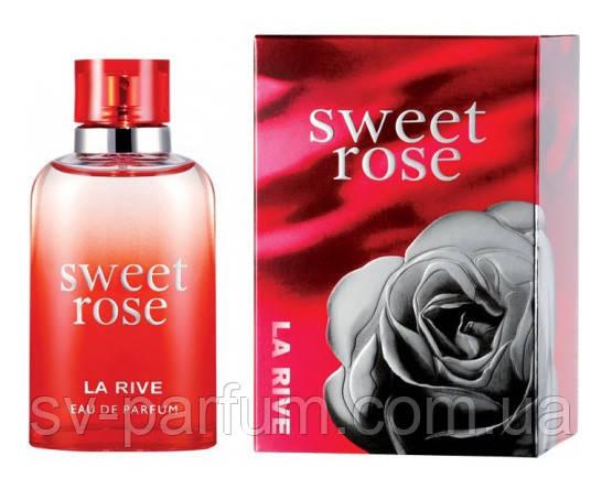 Парфюмированная вода женская La Rive Sweet Rose 90ml