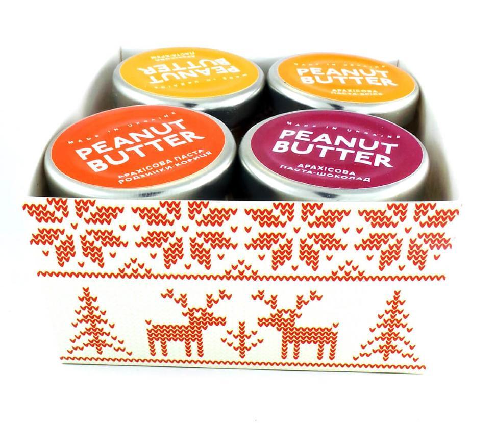 Арахисовая паста Подарочный набор Peanut Butter 140 г