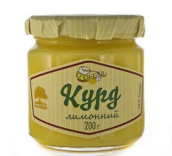 Курд лимонный Інша Їжа 200 г