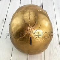 """Копілка """"Череп"""" на Хелловін, золота, Череп Копилка на хэллоуин, фото 2"""