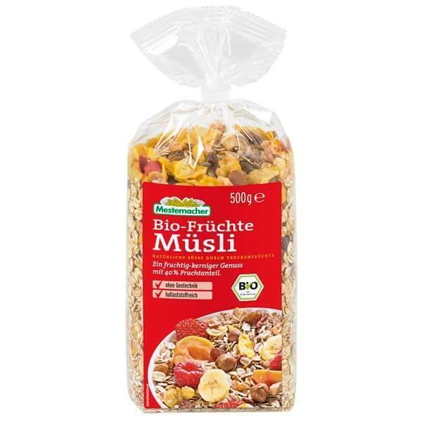 Мюсли с фруктами Bio-Fruchte Mestemacher