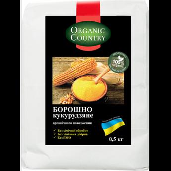 Борошно кукурудзяне органічна Organic Country 500 г