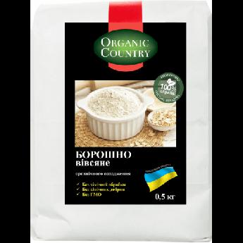 Борошно вівсяна органічна Organic Country 500 г