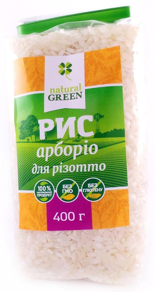 Рис арборио NATURAL GREEN 400 г