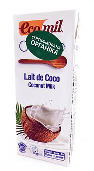 Кокосові вершки органічні рослинні Ecomil
