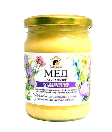 Мёд Расторопшевый с разнотравьем Правильный мёд 250 мл