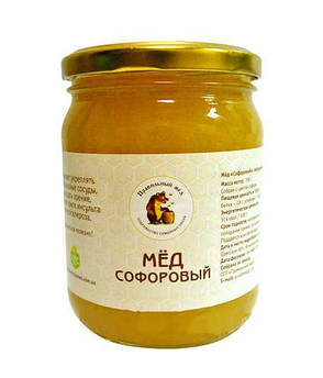 Мед Софоровый Правильний мед 500 мл
