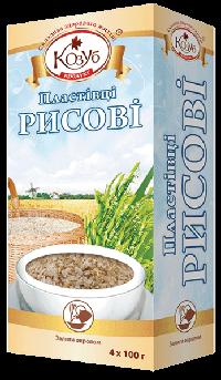 Хлопья рисовые Козуб 400 г