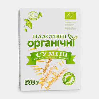 Хлопья смесь органические Козуб 500 г