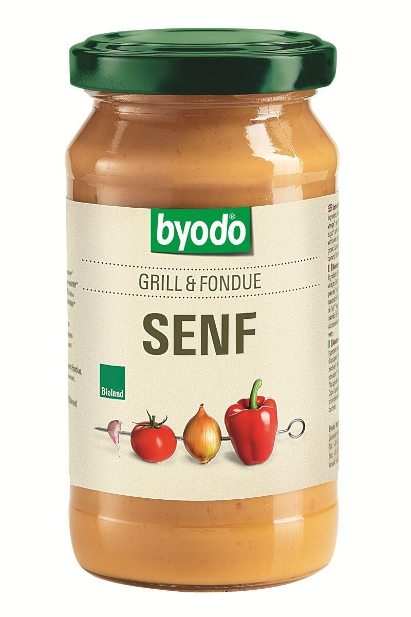 Горчица для барбекю и фондю органическая Byodo 200 мл