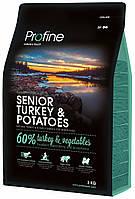 Сухой корм Profine Dog Senior Turkey & Potatoes  (для пожилых собак, индейка)