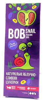 Конфета-Пастила Яблоко-Слива Bob Snail 30 г