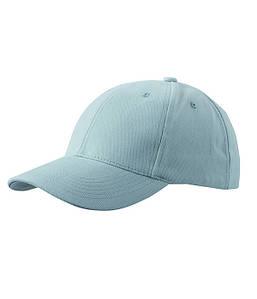 Классическая 6-панельная кепка Светло-Серый