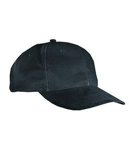 Классическая 6-панельная кепка Чёрный