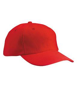 Класична 6-панельна кепка MRED Червоний