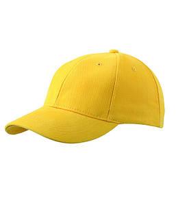 Класична 6-панельна кепка Золотисто-Жовтий