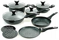 Набор посуды 12 предметов Edenberg с мраморным покрытием EB-5615, фото 1