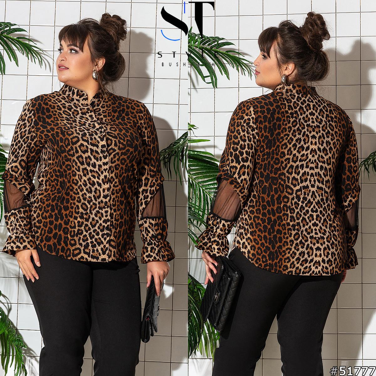 Женская блуза больших размеров 51777
