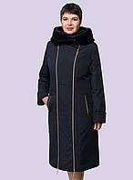 Женское зимние пальто- пуховик. Модель 192. Размеры 48-60