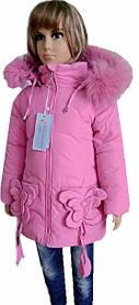 Пальто для девочек 1-5 лет