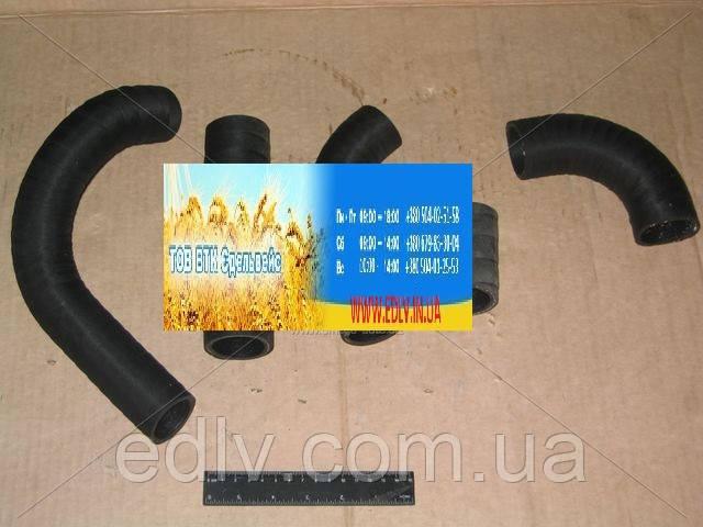 Патрубок радиатора ГАЗ 3302 (дв.402) 5шт. (пр-во г.Волжский)  3302-1303000-02