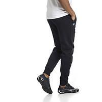 Мужские спортивные зауженные штаны под манжет Puma BMW,оригинал,ткань лакоста.