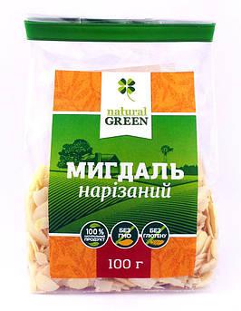 Миндаль нарезанный NATURAL GREEN 100 г