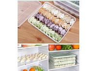 Контейнер для хранения и заморозки пельменей, вареников и других пищевых продуктов
